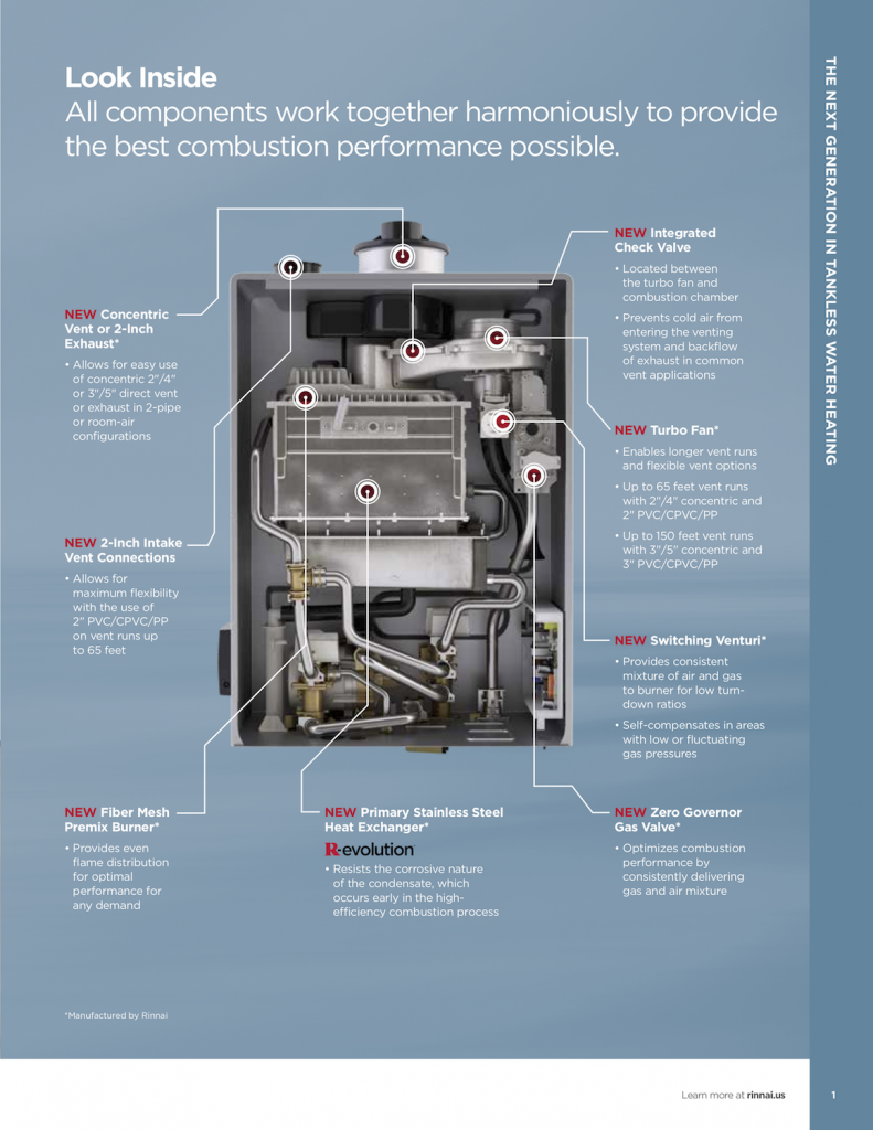 Rinnai Makes Tankless Easy Able Distributors