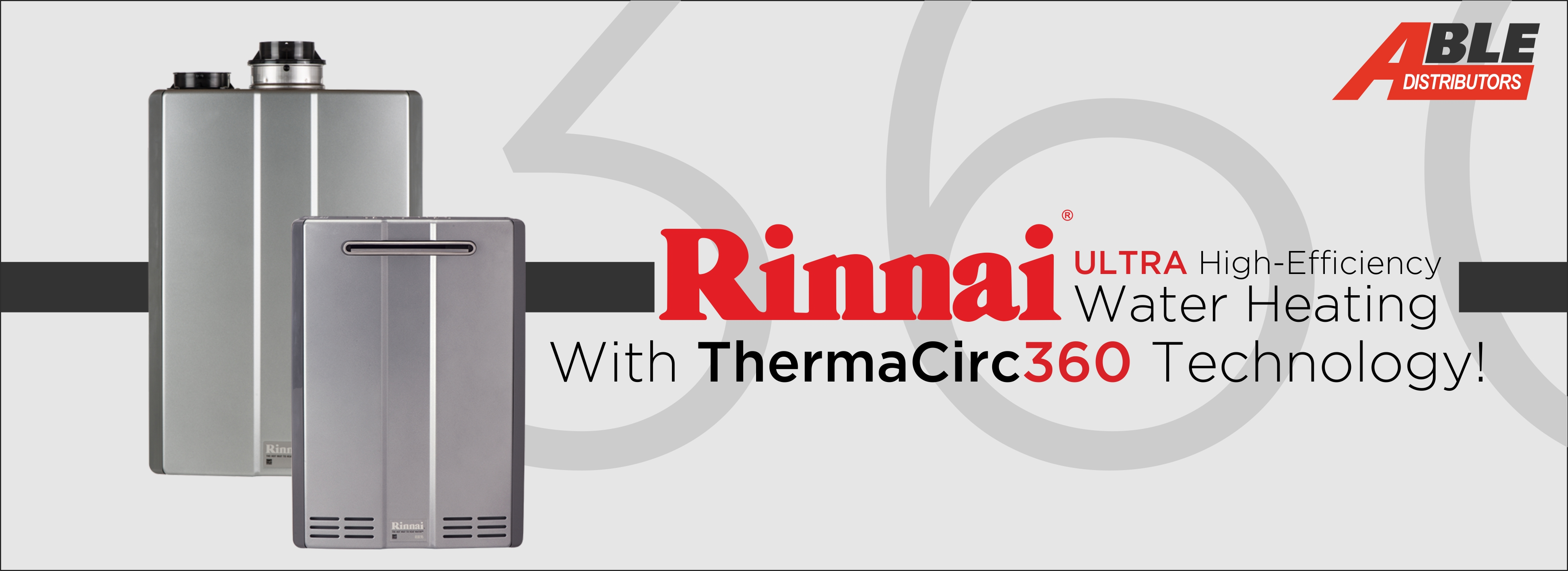 Rinnai Makes Recirculation Easy Able Distributors